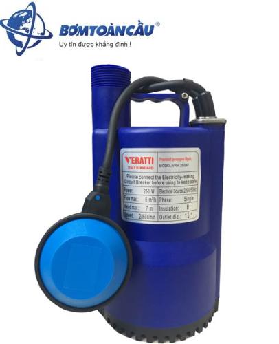 Máy bơm chìm nước thải Veratti VRm 250BF