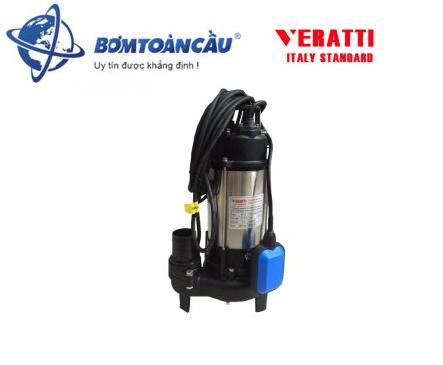Bơm chìm nước thải VERATTI VRM1100BF 1100W (Có phao)