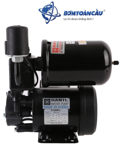 Máy bơm nước tăng áp Hanil PDW 131B.