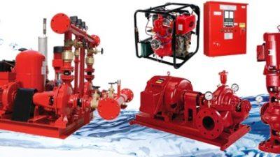 Những điều cần biết về các loại máy bơm cứu hỏa