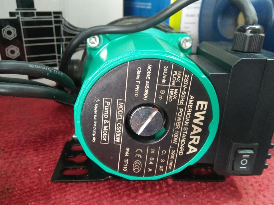 Máy bơm tăng áp Ewara CS100