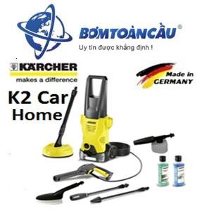 Máy rửa xe Karcher K 2 Car Full Control Car + PS 20