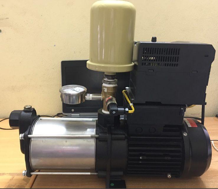 Máy bơm tăng áp biến tần 0.75 kw.