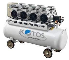 Máy nén khí không dầu KOTOS HD750x4 -120L