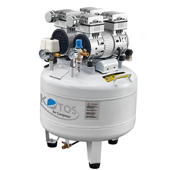 Máy nén khí không dầu KOTOS HD750x2 – 65L