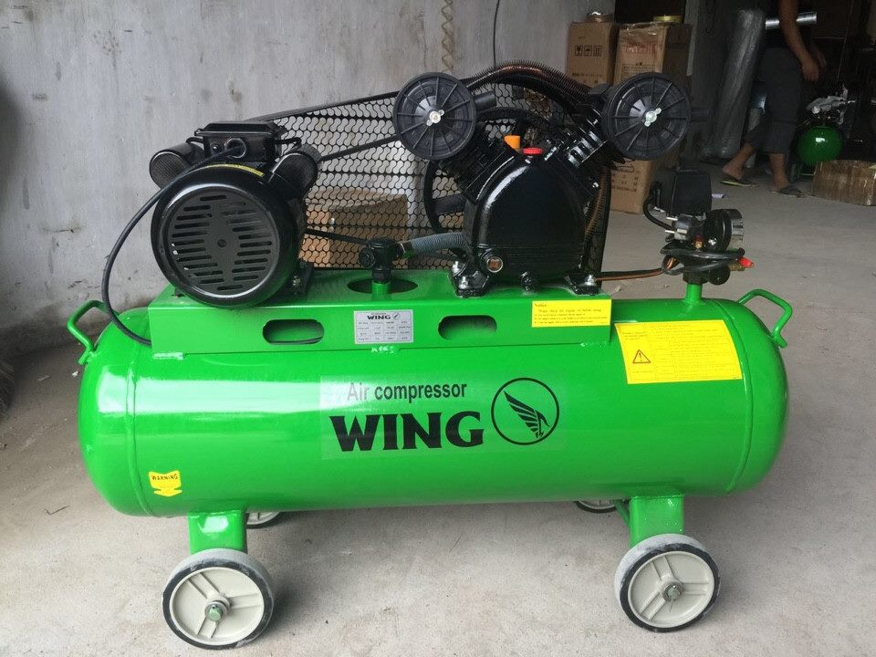 Máy nén khí dây đai Wing TW-V-0.12/8-70L