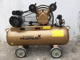 Máy nén khí dây đai Pegasus TM- V-0.12/8 – 70L