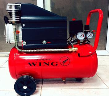 Máy nén khí đầu liền Wing TM – 0.1/8 -18L