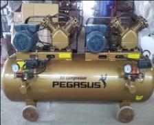 Máy nén khí dây đai Pegasus TM-V-0.25/12.5×2-230L