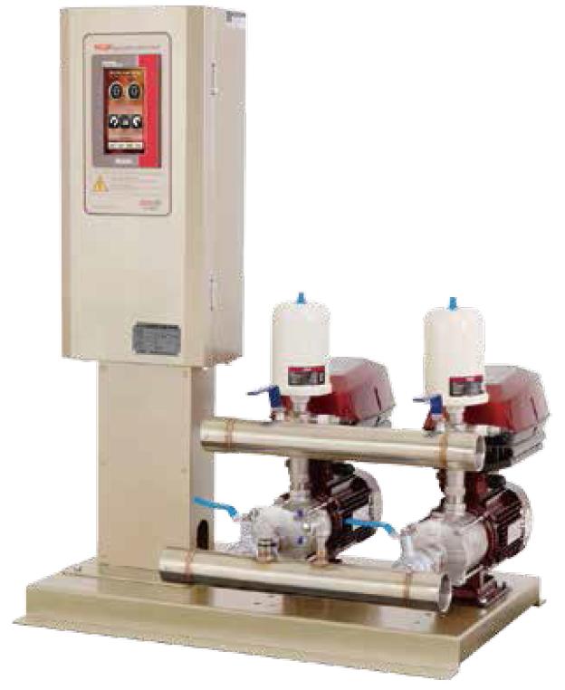 Máy bơm tăng áp điều khiển bằng biến tần Dooch model SQ(2)-DHF