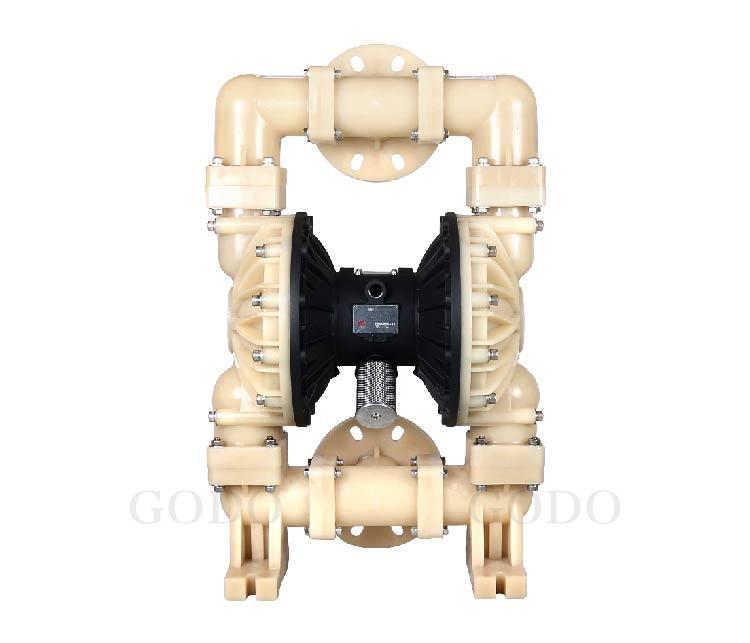Máy bơm màng khí nén GODO QBY3-80F ( nhựa PVDF)