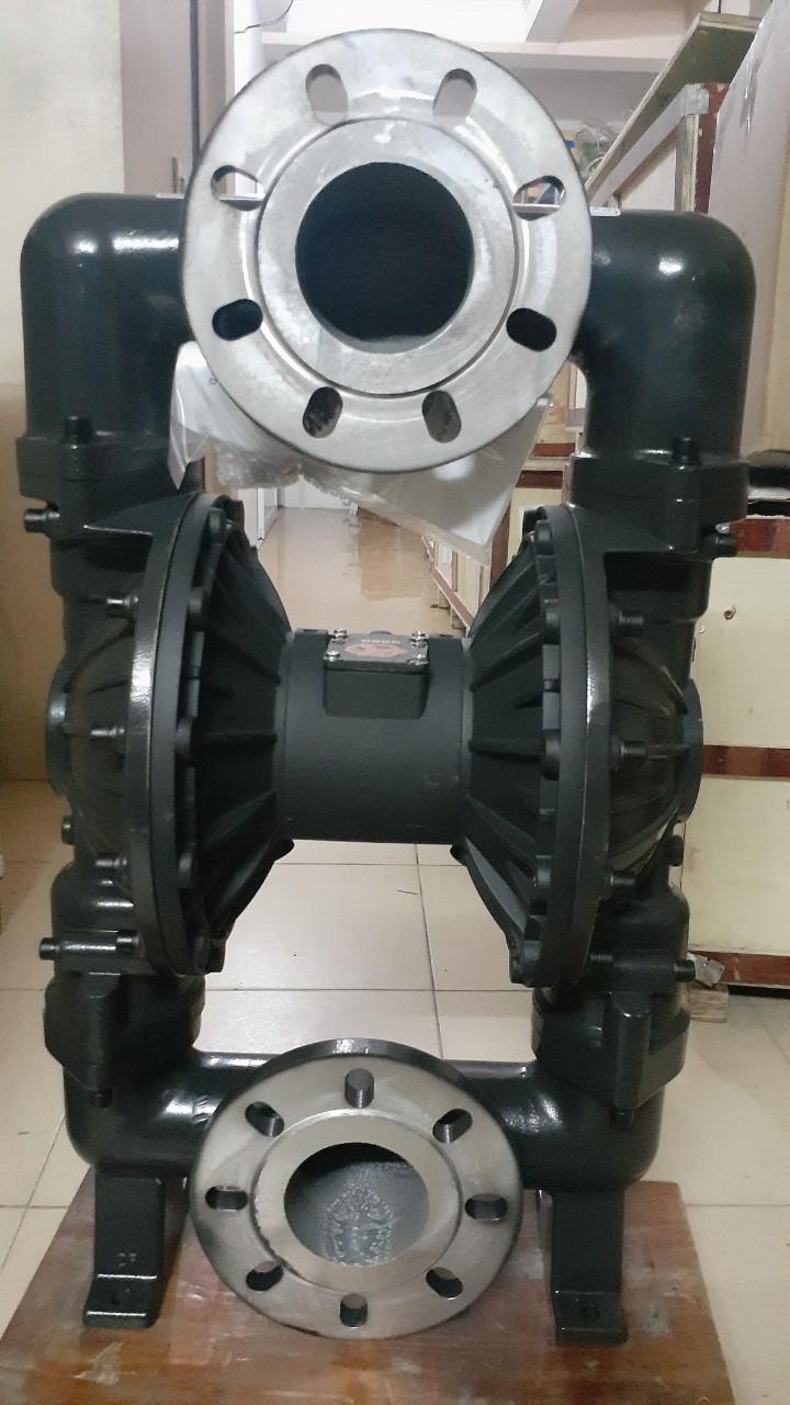 Máy bơm màng khí nén GODO QBY3-80Q ( thân gang )