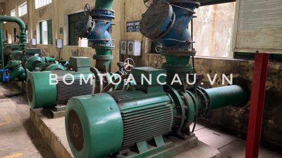 Nâp cấp cải tạo giây truyền bơm toàn hoàn nhà máy thép Việt Nhật